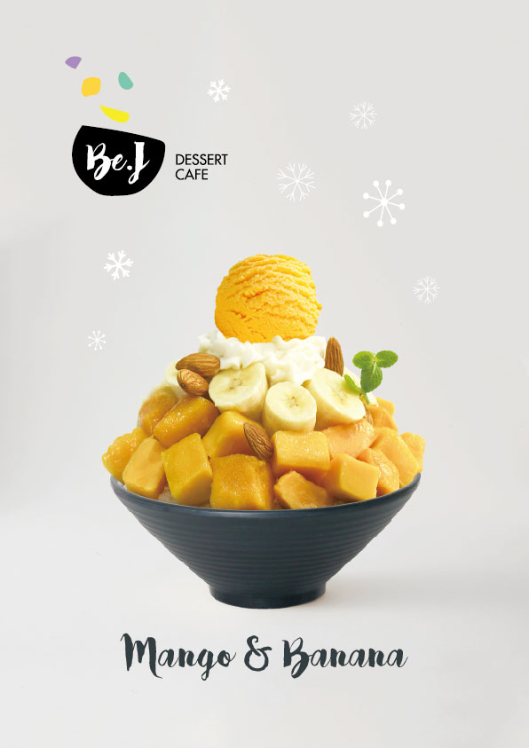 Mango&Banana Bingsu